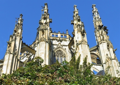 2019-10-13 Tschechien Kutná Hora St. Barbara-Kathedrale (19) Ostseite Apsis