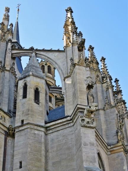 2019-10-13 Tschechien Kutná Hora St. Barbara-Kathedrale (29) Nordostseite
