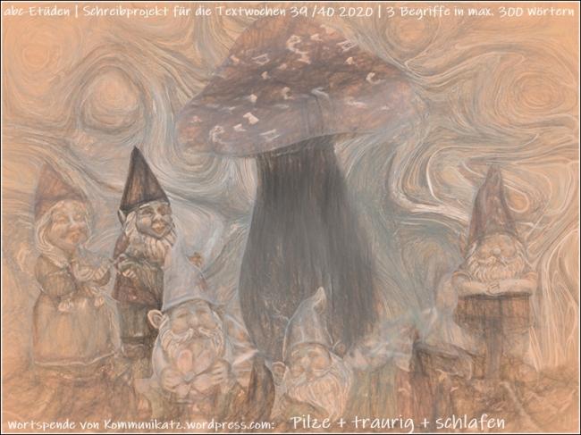 2020-09-24 Gartenzwerge + Pilz-Collage f. ABC-Etüde TW 39+40 2020