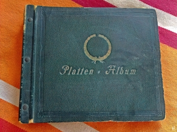 2021-06-21 LüchowSss zuhause Platten-Album 78er Schallplatten